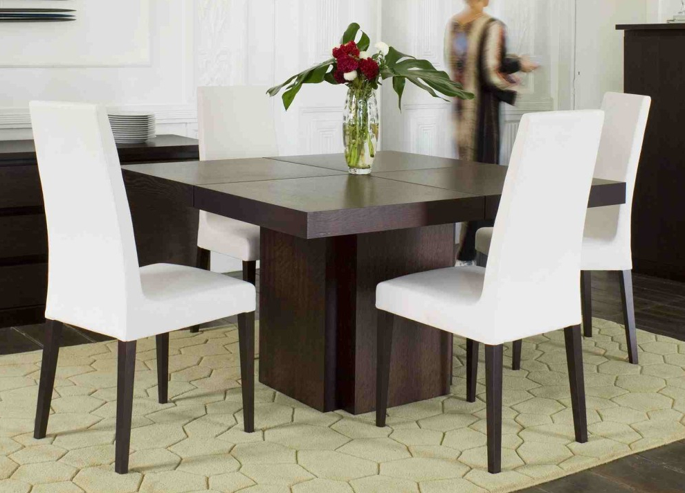 Square Dining Tables Intended For Most Recent Madeira Square Dining Table (View 14 of 20)
