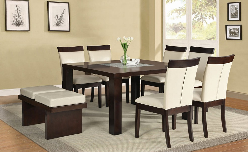Square Dining Tables With Most Up To Date Square Dining Table Set – Castrophotos (View 15 of 20)