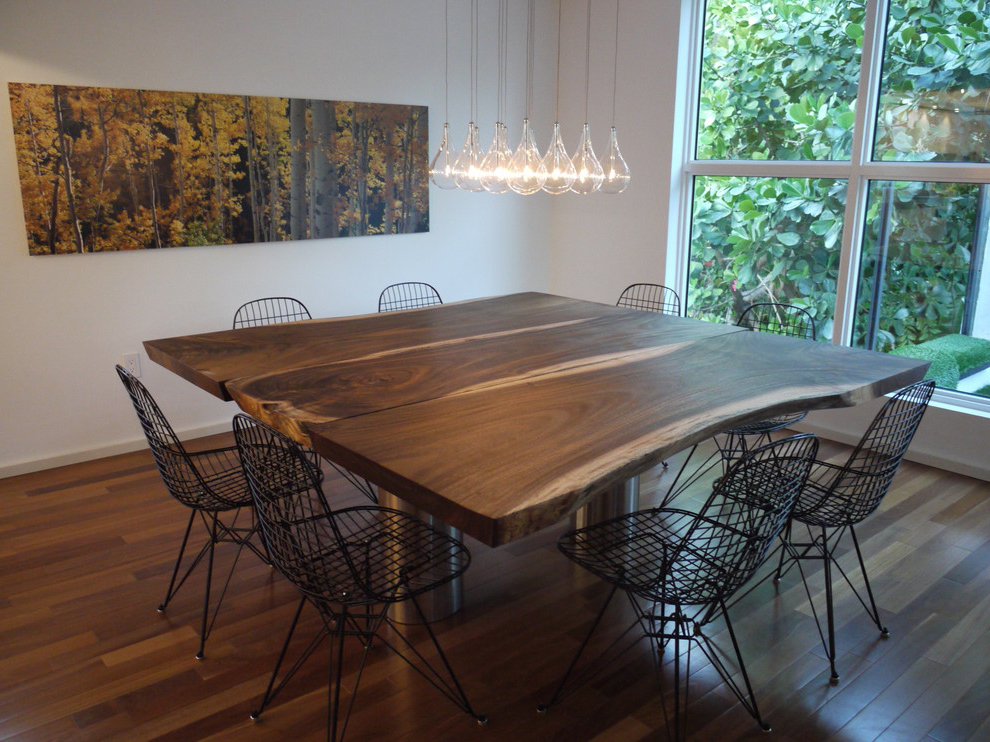 Square Extendable Dining Table Dining Room Contemporary In Recent Square Extendable Dining Tables And Chairs (View 15 of 20)
