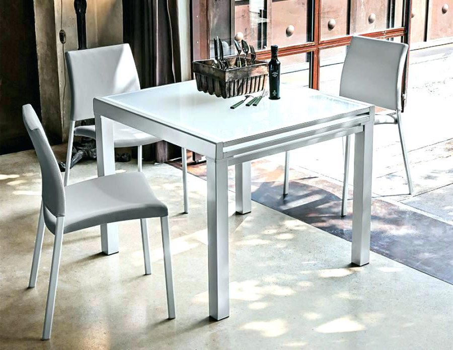 Square Extendable Dining Tables And Chairs Regarding Best And Newest 4 Foot Square Dining Table Square Kitchen Table For 4 Furniture (Gallery 1 of 20)
