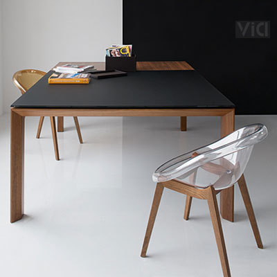 Square Extendable Dining Tables Inside Most Popular Omnia Glass Square Extendable Dining Table. Dining Tables (View 2 of 20)