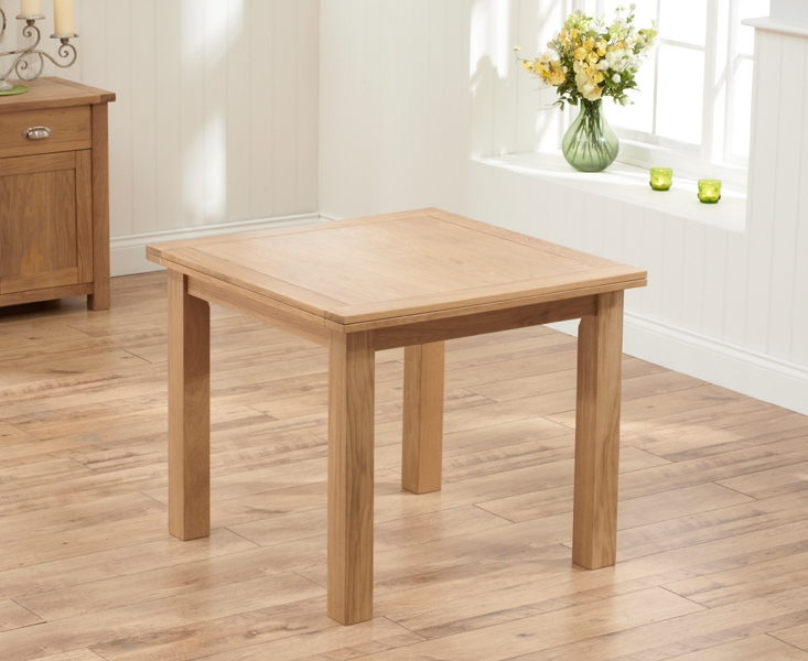 Square Oak Dining Tables Regarding Recent Buy Mark Harris Sandringham Solid Oak Dining Set – 90Cm Square Flip (Gallery 11 of 20)