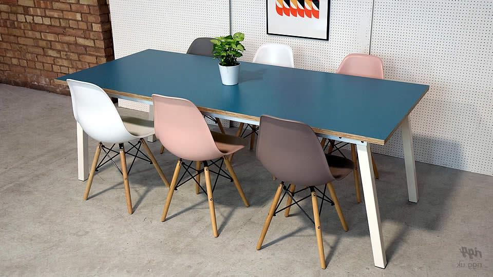 Stance Dining Table For Current Dining Tables With White Legs (Gallery 8 of 20)
