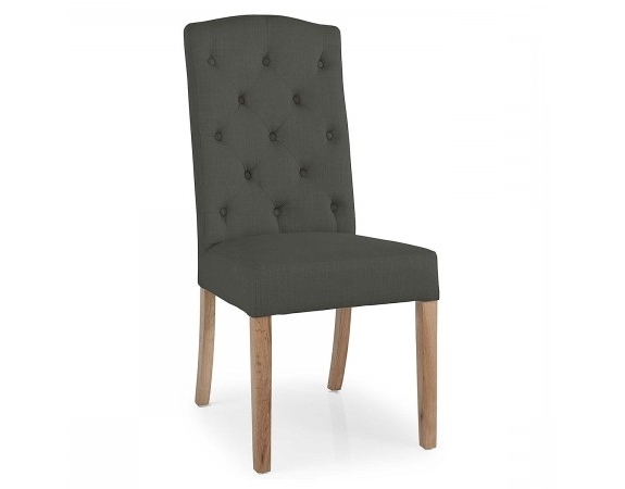 Stanza Button Back Dining Chair (View 17 of 20)