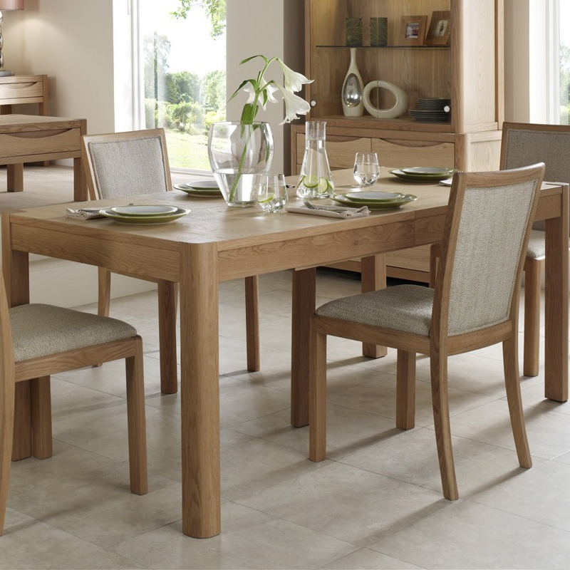 Stockholm 120Cm Medium Extending Dining Table – Winsor Furniture Pertaining To Newest Extending Dining Room Tables And Chairs (View 2 of 20)