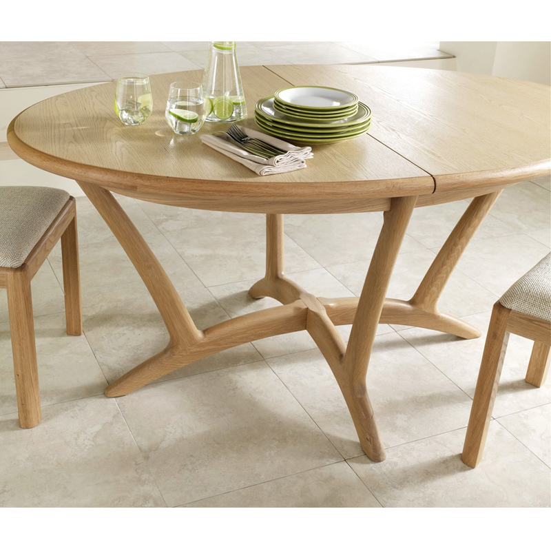Stockholm Oval Extending Dining Table – Winsor Furniture Wn218 – The With Regard To Most Current Oval Extending Dining Tables And Chairs (View 16 of 20)