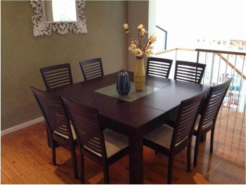 Stunning 8 Seater Dining Table : Table – Dullkniferecords With Well Known 8 Seater Black Dining Tables (View 4 of 20)