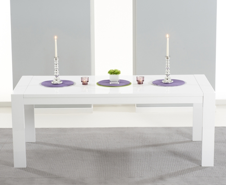 Style Within Well Known Cheap White High Gloss Dining Tables (View 15 of 20)