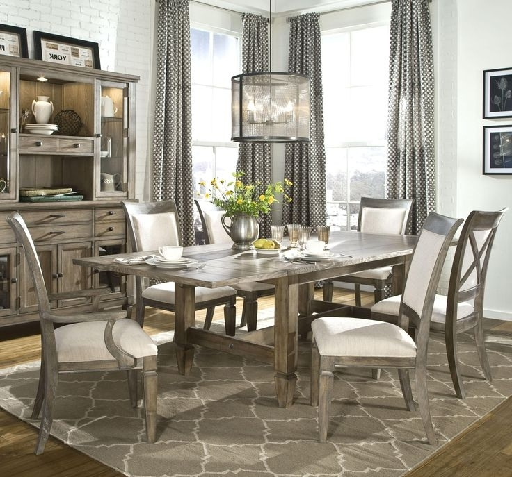 Table Settings, Dining In Caira 7 Piece Rectangular Dining Sets With Upholstered Side Chairs (View 16 of 20)