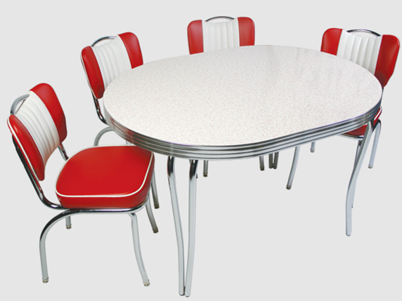 Tables, Chairs, Booths & Bar Stools For Retro Dining Tables (View 15 of 20)