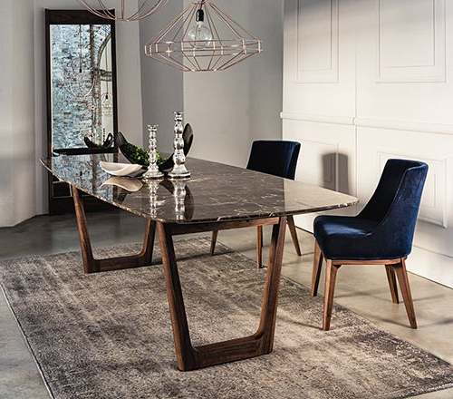 Tables In Pertaining To Favorite Marble Dining Chairs (View 14 of 20)