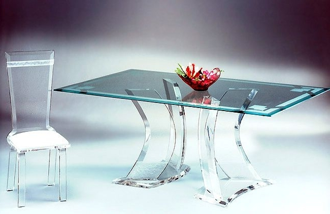Tables Regarding Acrylic Dining Tables (View 11 of 20)
