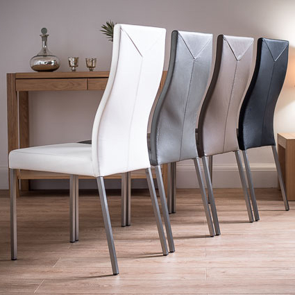 Take A Look At Our New Range Of Stylish, Contemporary Real Leather For Well Known Real Leather Dining Chairs (View 4 of 20)