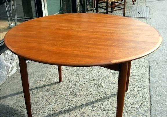 Teak Round Dining Table – Hammadhasan Within Trendy Round Teak Dining Tables (View 5 of 20)