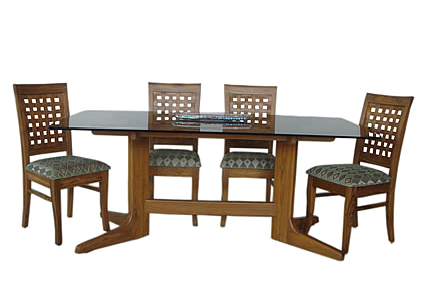 Teak Wood Dining Table Glass Top, Glass Dining Room Table, Glass Intended For Fashionable Wood Glass Dining Tables (View 2 of 20)