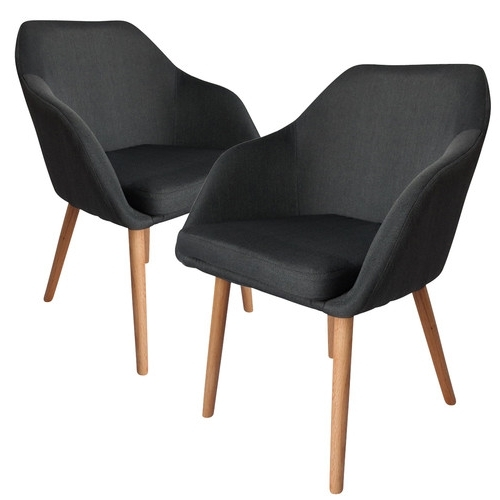Temple & Webster Within Well Known Charcoal Dining Chairs (View 19 of 20)