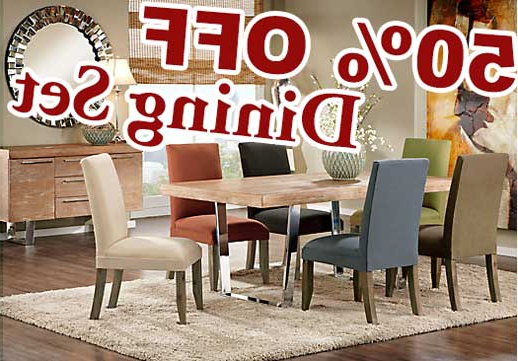 The Cindy Crawford Home San Francisco Ash 5 Pc Dining Table Set With With Regard To 2017 Crawford 7 Piece Rectangle Dining Sets (View 14 of 20)