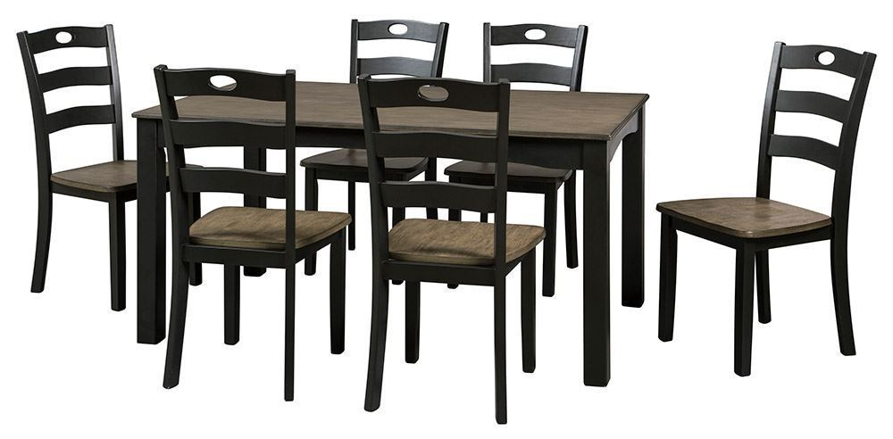 The Furniture Mart With Regard To Most Recent Dining Tables And Six Chairs (View 9 of 20)