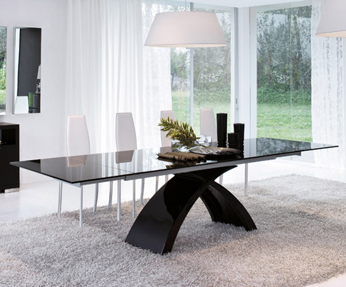 Tokyo Dining Tables For Newest Tonin Casa – Tokyo – Dining Table – Extension (Gallery 7 of 20)