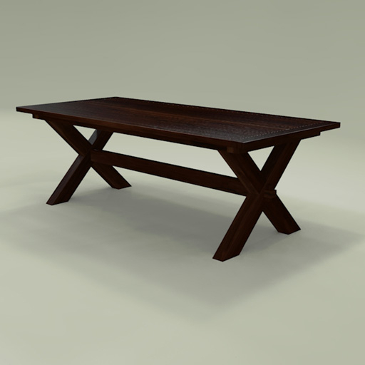 Toscana Dining Tables In Most Current Toscana Dining Table 3D Model – Formfonts 3D Models & Textures (View 15 of 20)