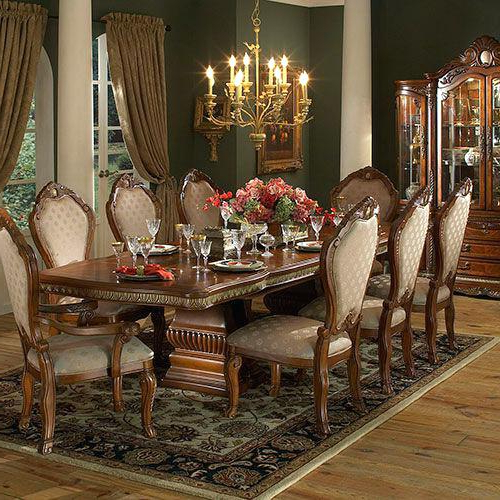 Traditional Dining Tables Intended For Trendy Traditional Dining Room Table – Briefingroom (Gallery 12 of 20)