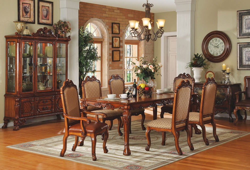 Traditional Dining Tables Regarding Most Recently Released Traditional Style Dining Room Chairs – Simple Minimalist Home Ideas • (View 7 of 20)