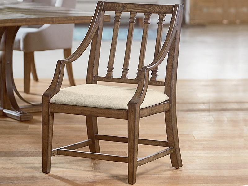 Traditional Revival Arm Chairmagnolia Home Regarding Well Liked Magnolia Home Revival Side Chairs (View 14 of 20)
