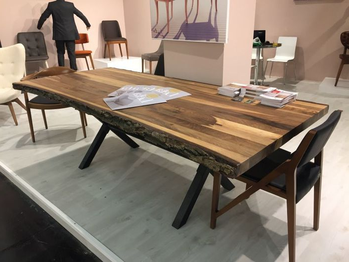Tree Dining Tables Throughout Fashionable 6. Brilliant Ideas Black Wood Dining Room Table Tree Finish Dining Table (Gallery 15 of 20)