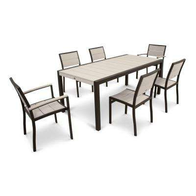 Trendy 7 Best Patio Images On Pinterest In Lassen 7 Piece Extension Rectangle Dining Sets (View 11 of 20)
