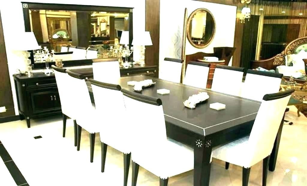 Trendy 8 Seat Dining Tables Within 8 Seat Kitchen Table Round Table 8 Chairs 8 Round Table And Chairs  (View 18 of 20)