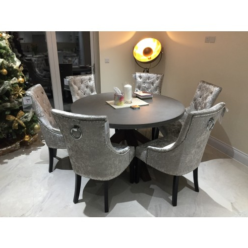 Trendy Ascot Dining Chair Mink Velvet – Atlantic Shopping Within Velvet Dining Chairs (Gallery 10 of 20)