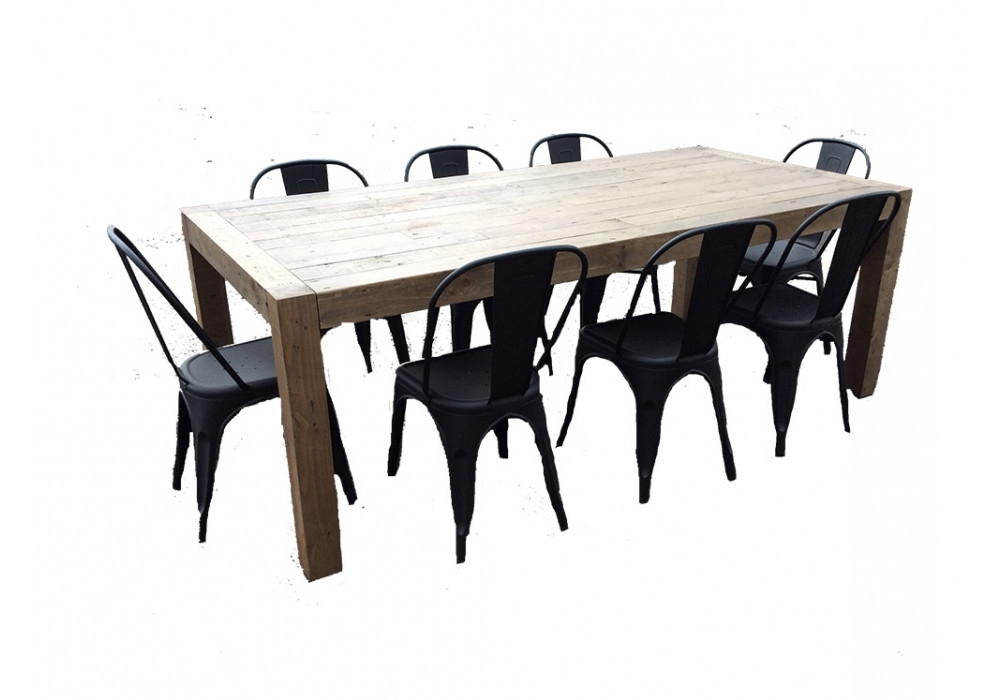 Trendy Benson Rectangle Dining Tables For Benson 9Pce Dining Suite With Reni Chairs (View 18 of 20)