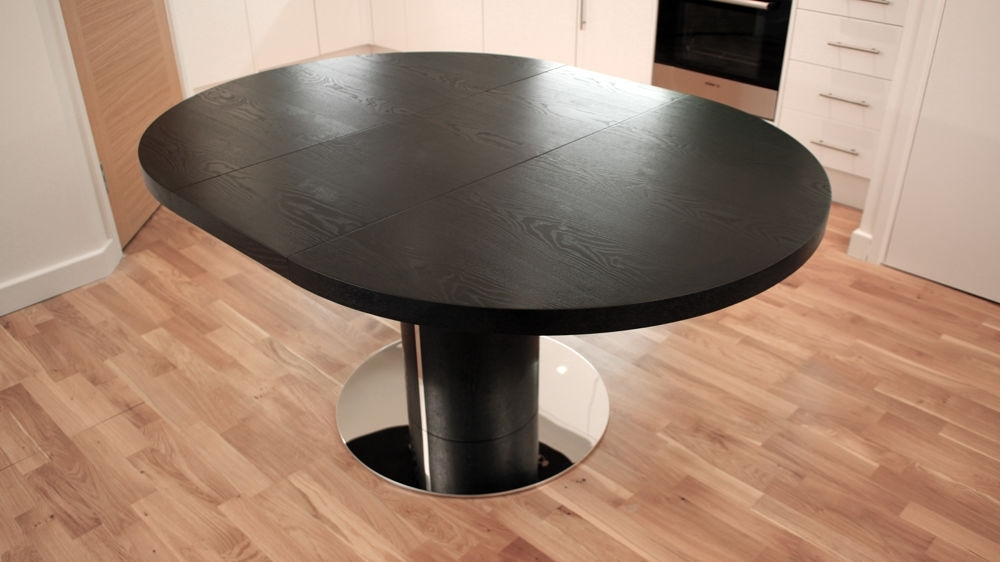 Trendy Black Dining Chairs Regarding Black Extendable Dining Tables And Chairs (View 17 of 20)