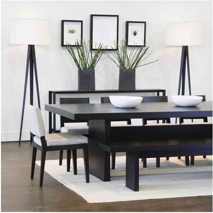 Trendy Breathtaking Modern Dining Table Black Camila With Within Ideas 5 Regarding Modern Dining Sets (View 17 of 20)