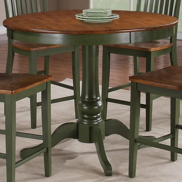 Trendy Candice Ii Round Dining Tables Within Buy Candice Round Counter Pedestal Tablesteve Silver From Www (View 12 of 20)