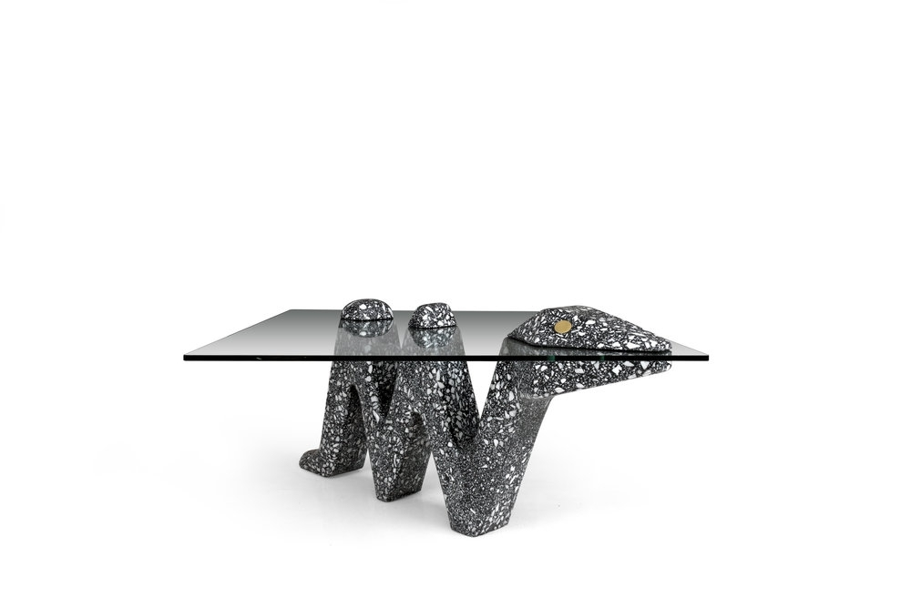 Trendy Carly Triangle Tables Intended For Terrazzo — Carly Jo Morgan (View 2 of 20)
