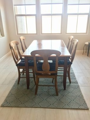 Trendy Chandler Extension Dining Tables In New And Used Dining Tables For Sale In Gilbert, Az – Offerup (View 18 of 20)