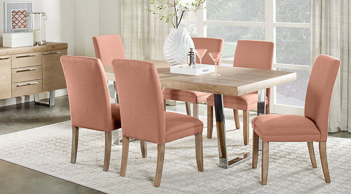 Trendy Cindy Crawford Home San Francisco Ash 5 Pc Dining Room (View 15 of 20)
