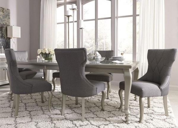Trendy Cora 7 Piece Dining Sets Throughout 20 Elegant Coralayne Dining Set (Gallery 2 of 20)