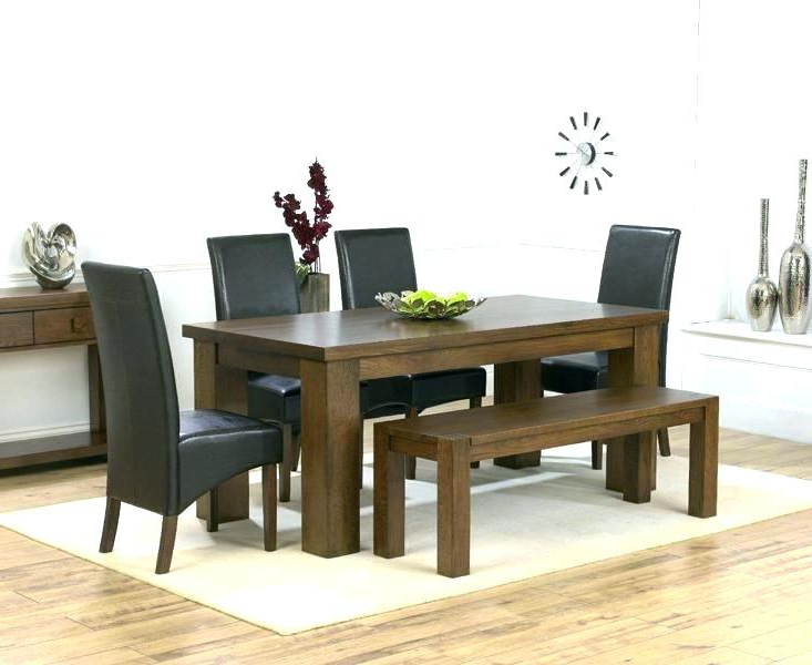 Trendy Dark Wooden Dining Tables Dark Wood Dining Room Set Dining Room Sets In Dark Wood Dining Tables (View 9 of 20)
