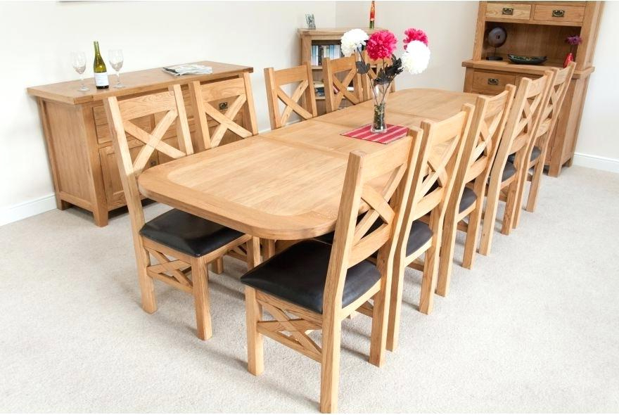 Trendy Decoration: Extension Dining Table Seats 10 Pertaining To Extending Dining Table With 10 Seats (View 5 of 20)