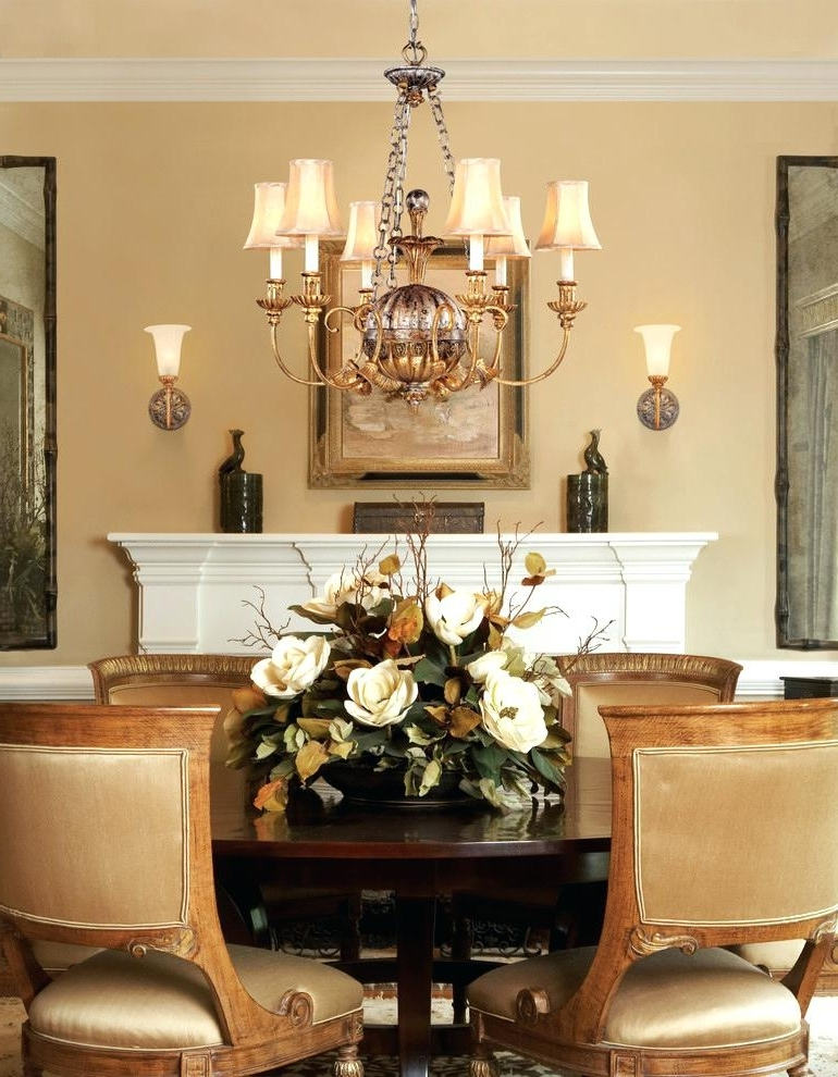 Trendy Dining Table Floral Centerpieces Dining Table Centerpiece Ideas Silk With Artificial Floral Arrangements For Dining Tables (View 19 of 20)