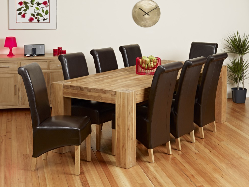 Trendy Dining Tables And 8 Chairs For Sale Regarding 8 Seat Dining Table With 8 Seat Dining Tables (View 3 of 20)