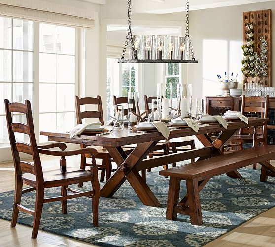 Trendy Extending Rectangular Dining Tables In Extending Dining Room Sets Stunning Hillary Rectangular Counter (View 11 of 20)