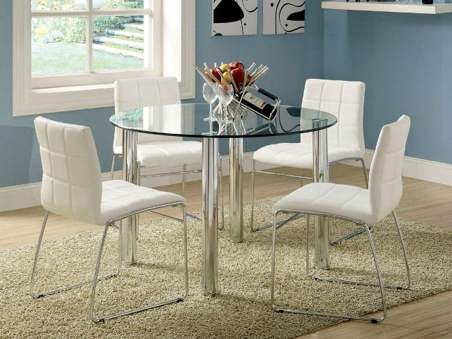 Trendy Fancy Ikea Round Dining Table Ikea White Dining Table Dining Room In Ikea Round Glass Top Dining Tables (View 18 of 20)