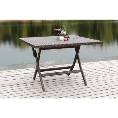 Trendy Folding – Patio Dining Tables – Patio Tables – The Home Depot Pertaining To Folding Outdoor Dining Tables (View 18 of 20)
