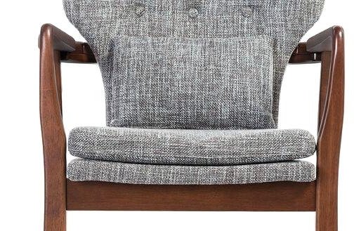Trendy Laurent Upholstered Side Chairs Pertaining To Wood Frame Accent Chairs Astonishing Modern Lounge And Accent Chairs (View 18 of 20)