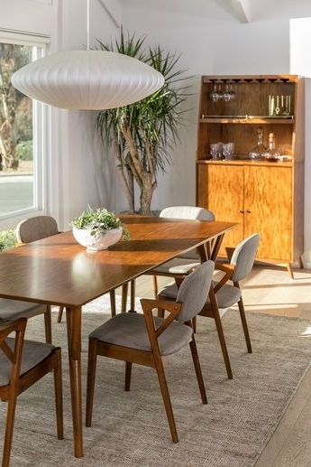Trendy Lowell Extension Table With Amos 7 Piece Extension Dining Sets (View 19 of 20)