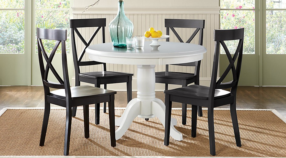 Trendy Macie Round Dining Tables Within Black Round Dining Table And Chairs – Bosnianyellowpages (View 17 of 20)