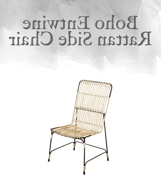 Trendy Magnolia Home Entwine Rattan Arm Chairs With Regard To Magnolia Home Preview: Boho Collection (View 14 of 20)